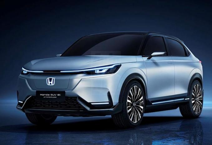 Honda SUV e:Prototype : concept de HR-V électrique #1
