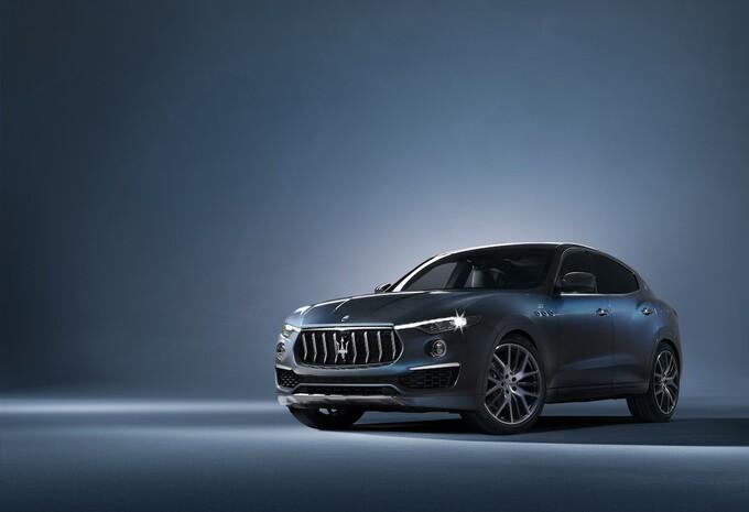 Maserati Levante nu ook als Hybrid #1