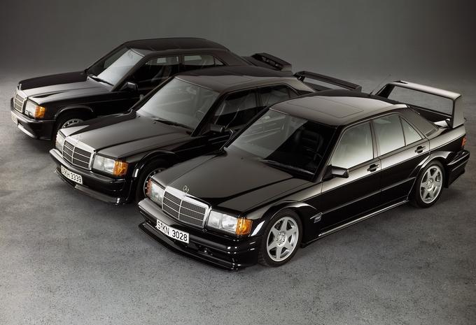 Vintage - 1984 Mercedes 190 2.3-16, l'or pour une flèche d'argent  #1