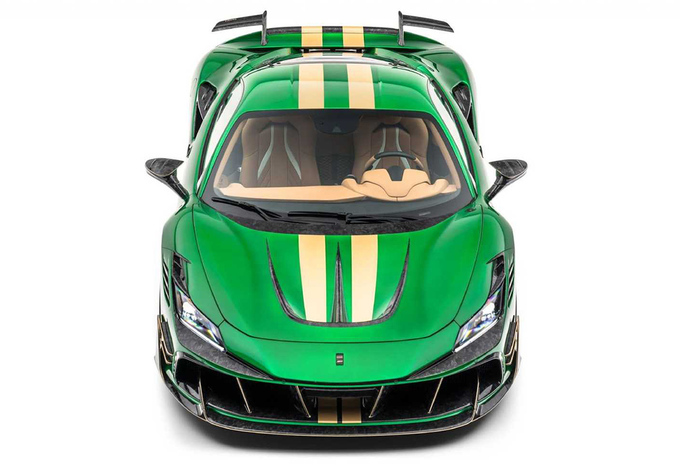 Mansory F8XX is Ferrari Tributo van andere planeet #1