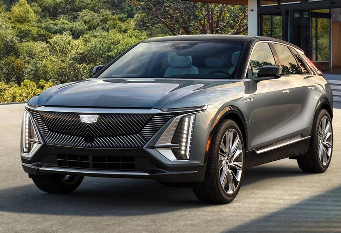 Cadillac Lyriq 2023, SUV électrique à l'américaine #1