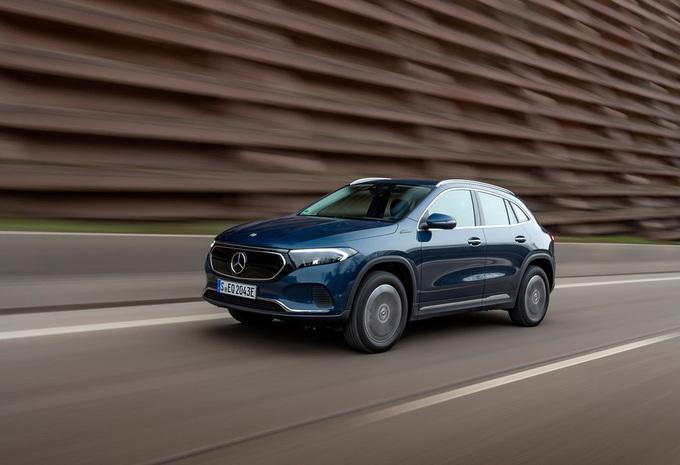 Mercedes EQA : deux nouvelles variantes  #1