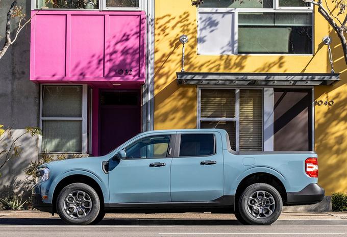 Ford Maverick is compacte en hybride pick-up #1