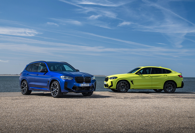 BMW X3M & X4M: facelift voor topmodellen #1