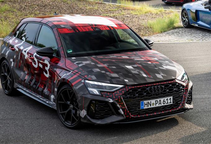 Audi teast RS3 en gaat voor meer duurzaamheid #1