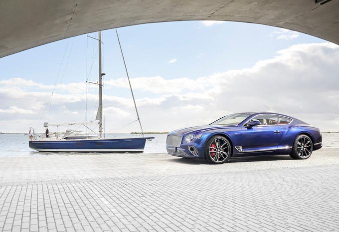 Bentley maakt luxejacht op basis van Continental GT #1