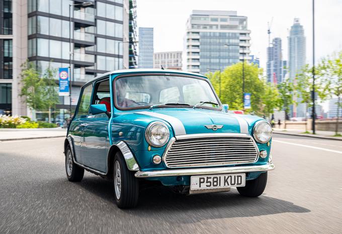 London Electric Cars transforme votre Mini Classic en électrique #1