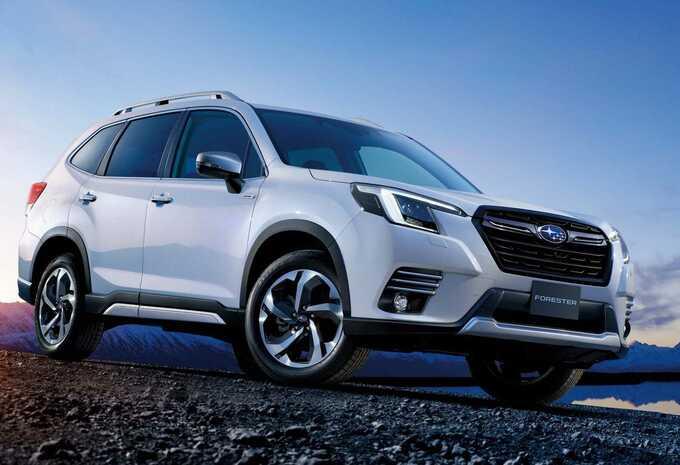 Subaru Forester s'offre un léger lifting #1