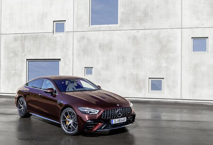 Mercedes-AMG GT 4 Portes : pas de lifting, mais une mise à jour #1