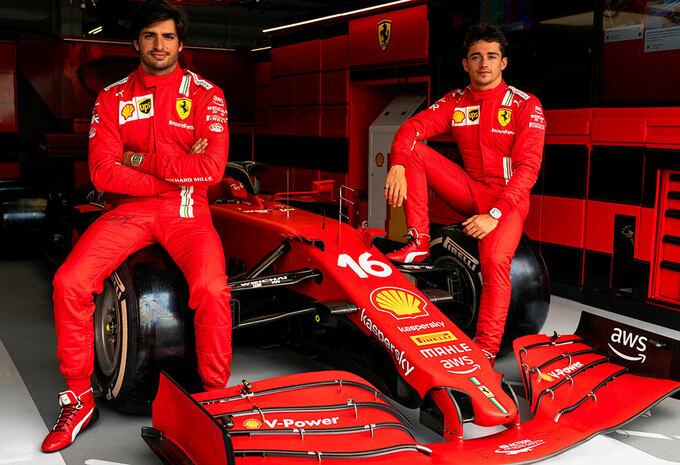 Ferrari s'associe à Amazon Web Services #1