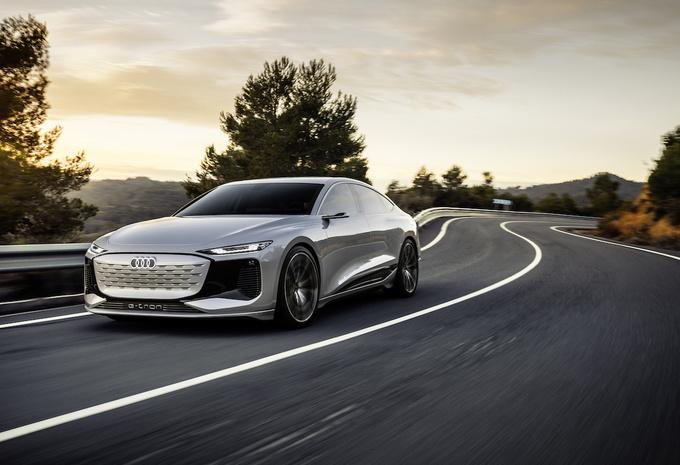 Audi A6 Avant E-tron Concept 2021