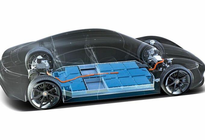Porsche Taycan high performance batteries