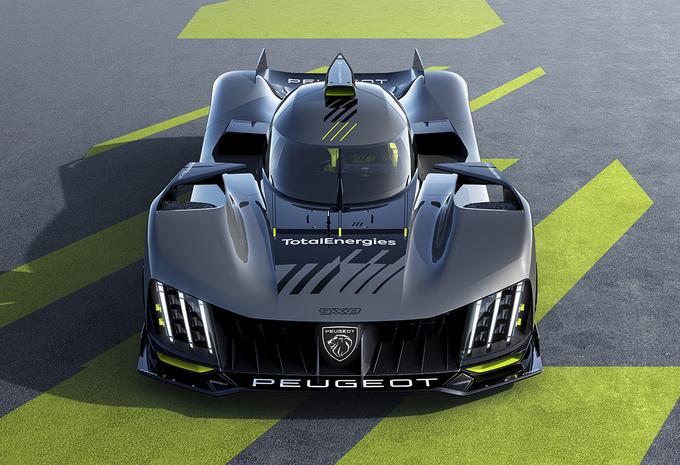 2022 Peugeot 9X8 LMH Hypercar WEC
