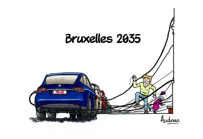 La story d'Audran - Bruxelles automobile 2035