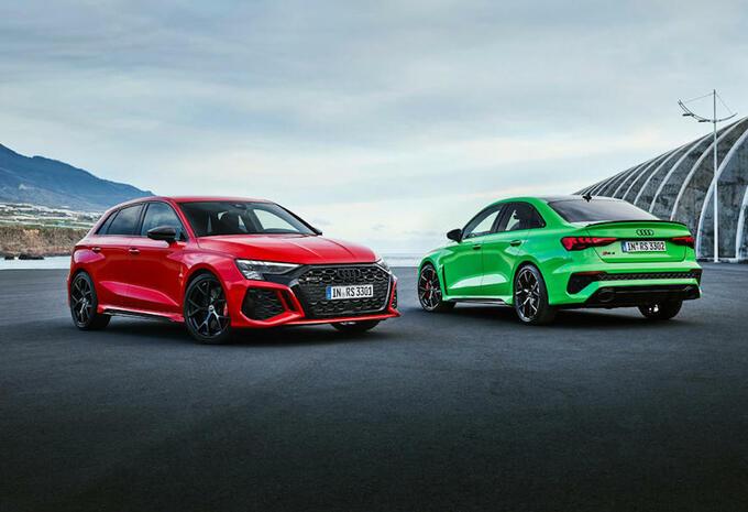 Audi RS3 combineert 5 cilinders met 400 pk en een driftmodus #1