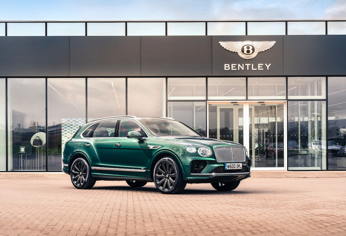 Bentley Bentayga Carbon Wheels 2021