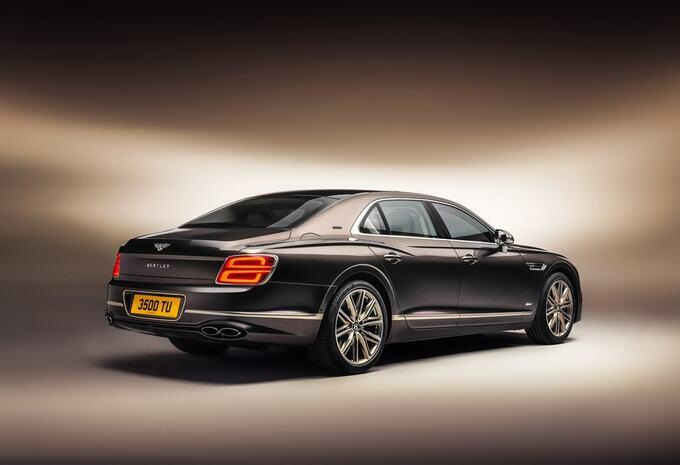 Bentley Flying Spur nu ook als PHEV