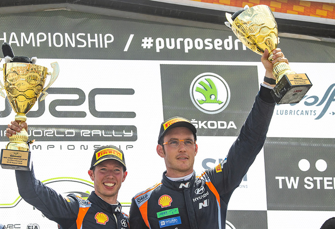 Thierry Neuville remporte le rallye d'Ypres  #1