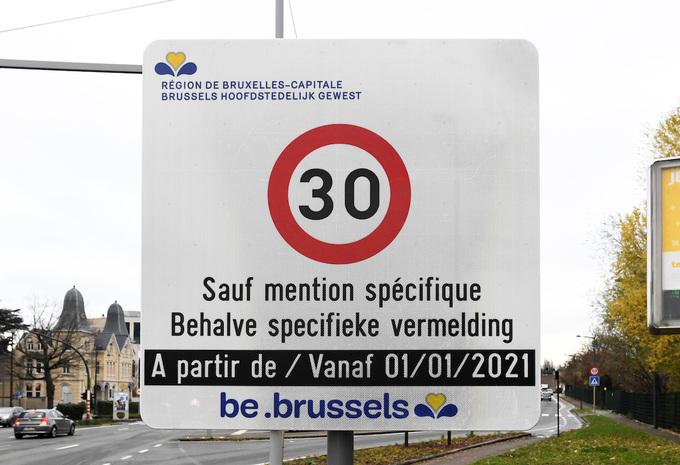 Bruxelles 30 km/h
