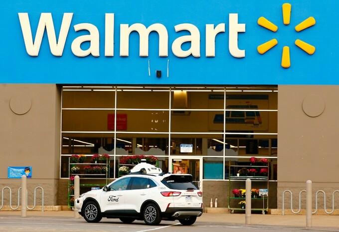 Ford Argo Ai & Walmart for autonomous deliveries