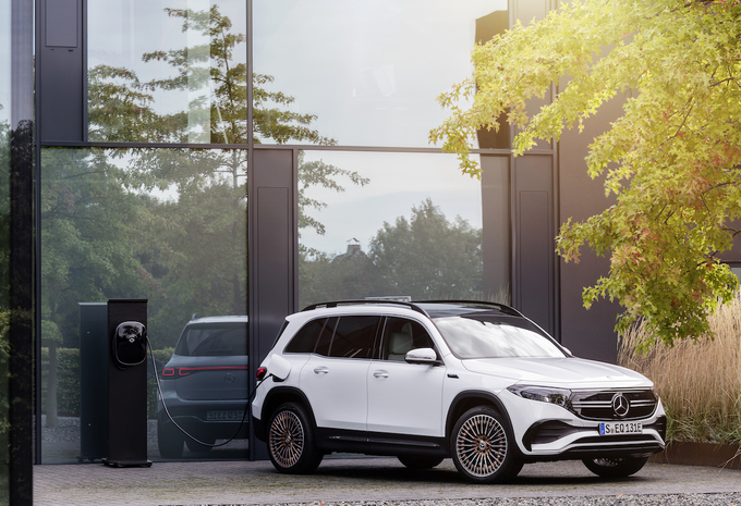 Mercedes EQB 2021 - Daimler joins Stellantis and TotalEnergie