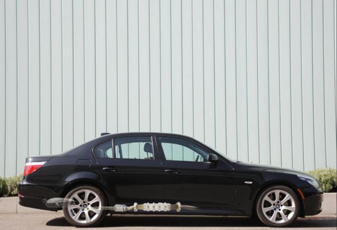 BMW Série 5 avec générateur thermoélectrique #1