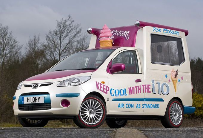 Hyundai i10 Ice Cream Van  #1