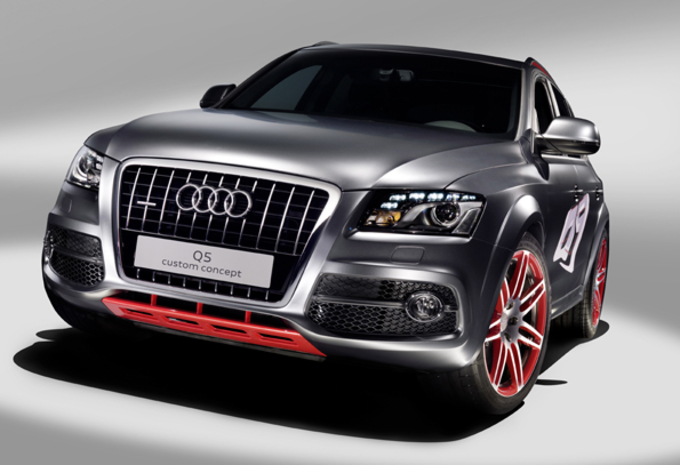 audi q5 custom concept moniteur automobile. Black Bedroom Furniture Sets. Home Design Ideas