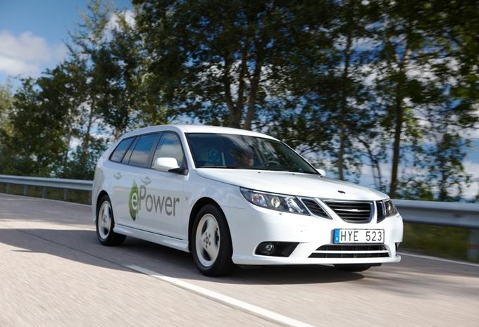 Saab 9-3 ePower #1