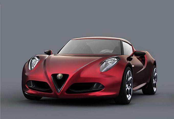 Alfa Romeo 4C Concept #1