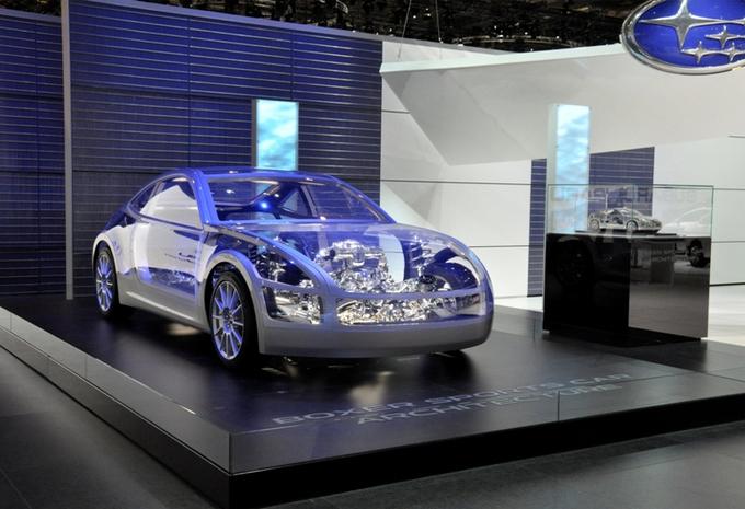 Subaru Boxer architecture sport #1
