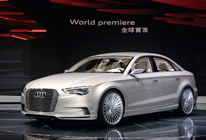 Audi A3 e-tron Concept #1