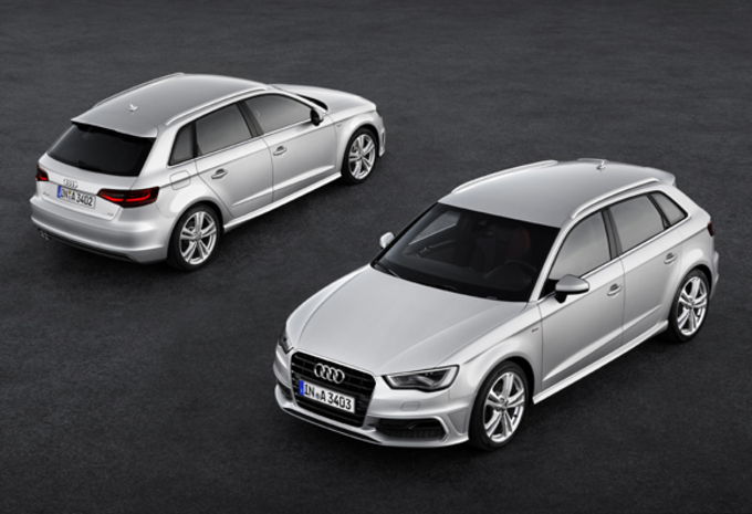 photos audi a3 sportback moniteur automobile. Black Bedroom Furniture Sets. Home Design Ideas
