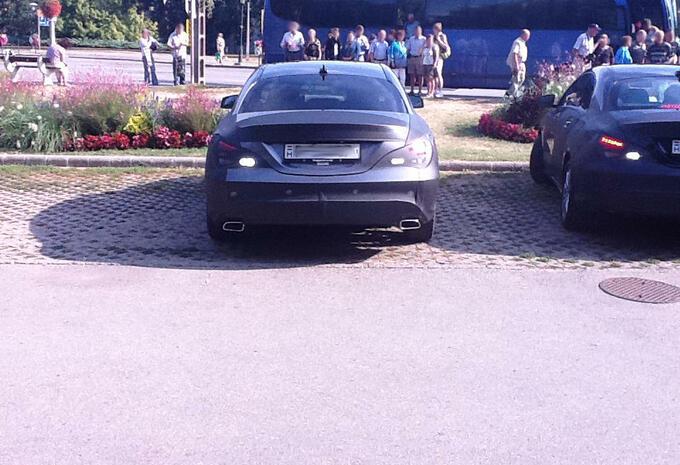 Mercedes CLA capturée #5