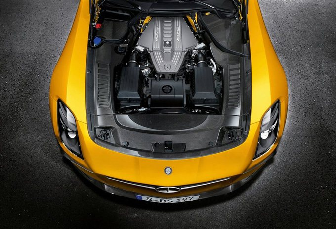 Mercedes SLS AMG Black Series #13