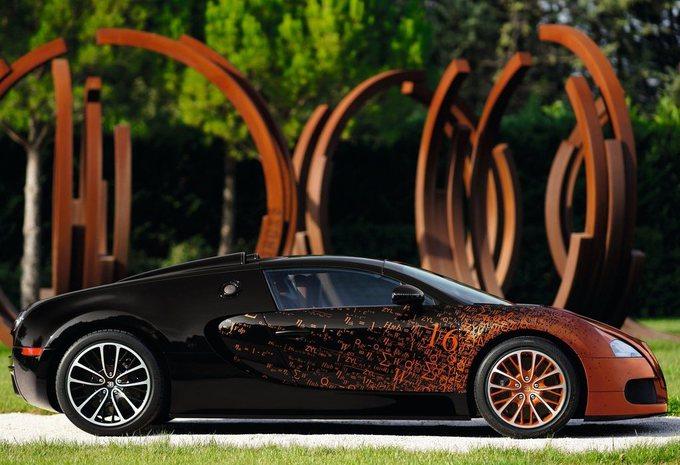 Bugatti Veyron Grand Sport Bernar Venet #8