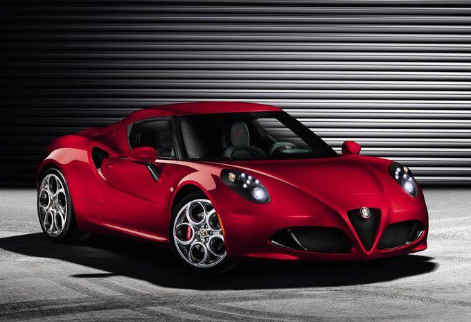 Alfa Romeo 4C #1