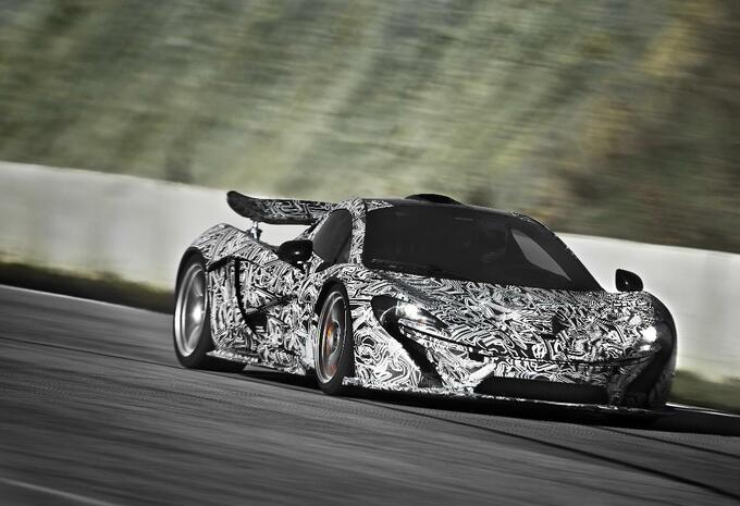 McLaren P1 krijgt hybride aandrijflijn #2
