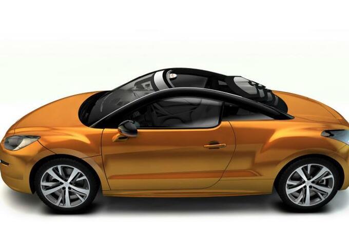 Peugeot RCZ Top View Concept #1