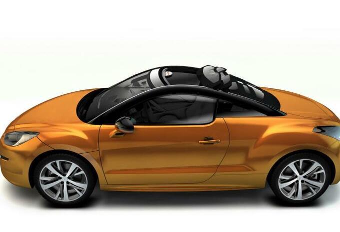 Peugeot RCZ Top View Concept #3