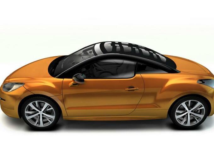 Peugeot RCZ Top View Concept #4