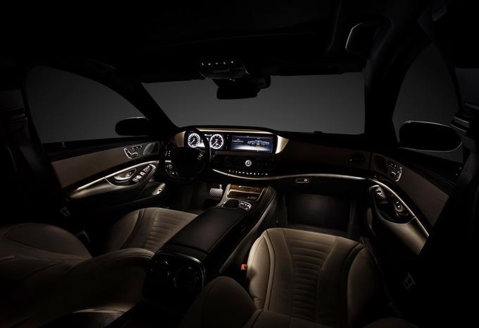 L'intérieur de la Mercedes Classe S #3
