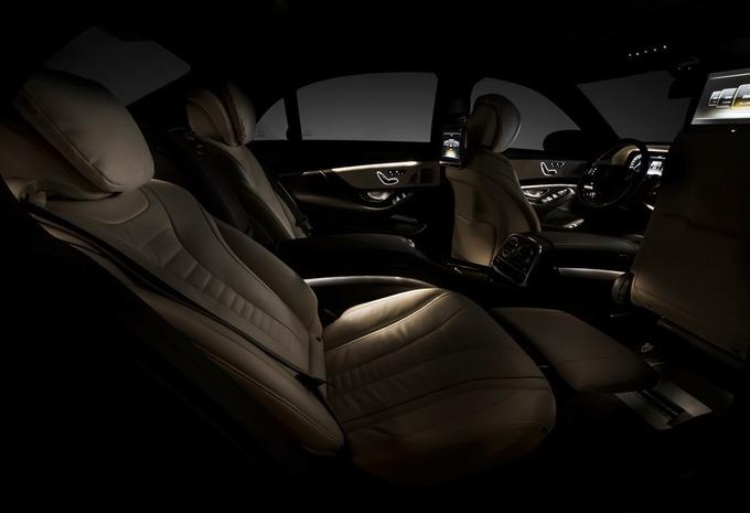 L'intérieur de la Mercedes Classe S #4