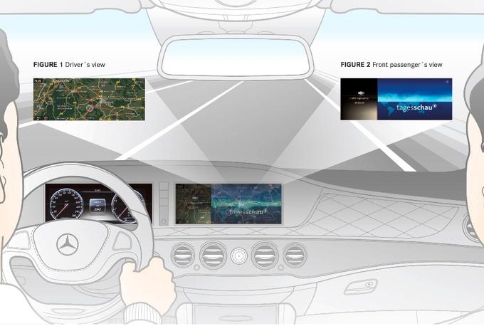 L'intérieur de la Mercedes Classe S #5