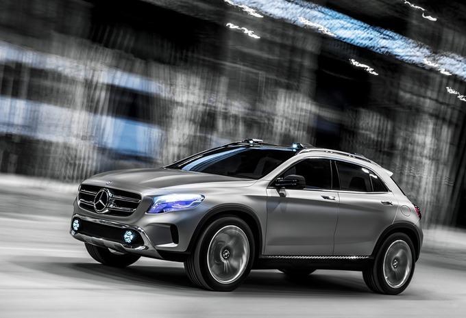 Mercedes GLA #1