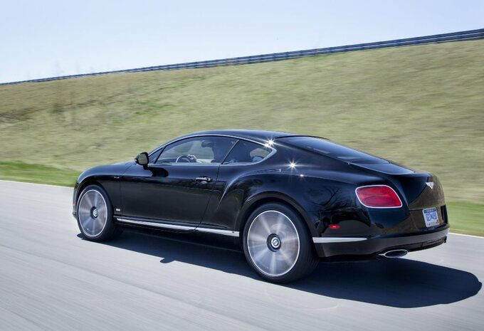 Bentley Continental en Mulsanne Le Mans #3
