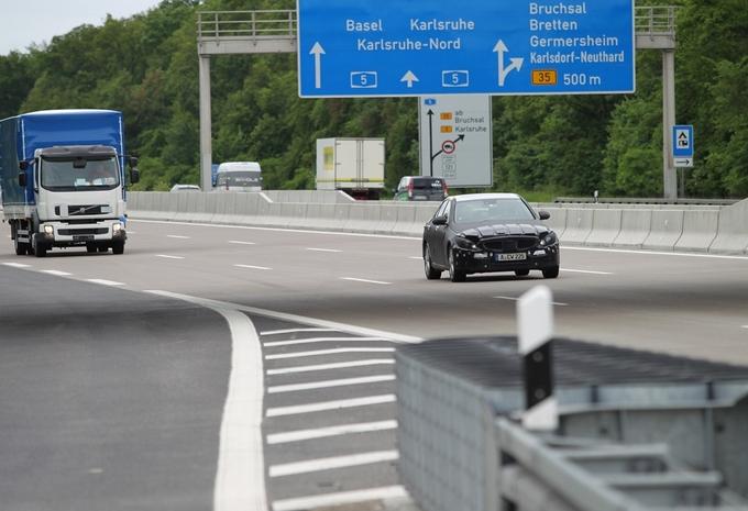 Mercedes Classe C débusquée #2