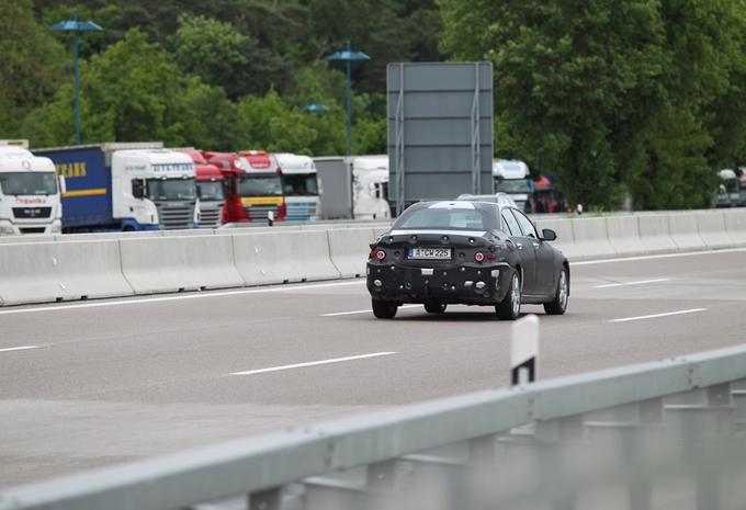 Mercedes Classe C débusquée #5