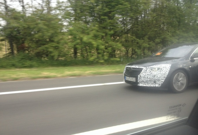 Opel Insignia repérée en Belgique #1