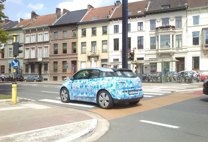BMW i3 betrapt in België #1
